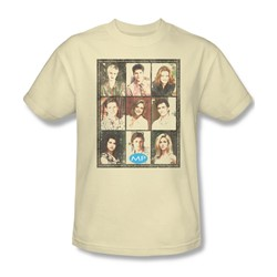 Mp - Mens Season 2 Cast Squared T-Shirt In Cream