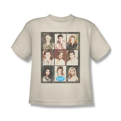 Mp - Big Boys Season 2 Cast Squared T-Shirt In Cream