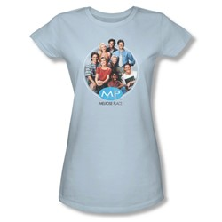 Mp - Womens Season 1 Original Cast T-Shirt In Light Blue