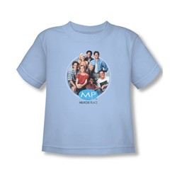 Mp - Toddler Season 1 Original Cast T-Shirt In Light Blue