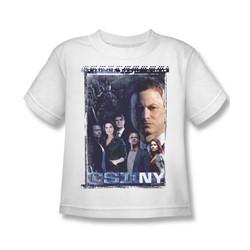 Csi Ny - Little Boys Watchful Eye T-Shirt In White
