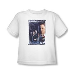 Csi Ny - Toddler Watchful Eye T-Shirt In White