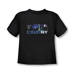 Csi Ny - Toddler Never Rests T-Shirt In Black