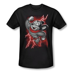 Mighty Mouse - Mens Mighty Storm T-Shirt In Black