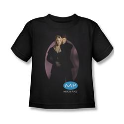 Melrose Place - Little Boys Kiss T-Shirt In Black