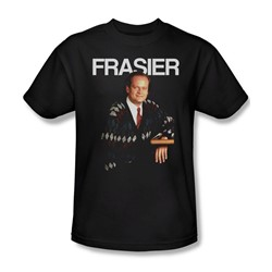 Cheers - Mens Frasier T-Shirt In Black