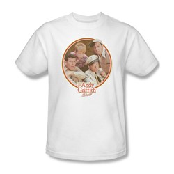 Andy Griffith - Mens Boys Club T-Shirt In White