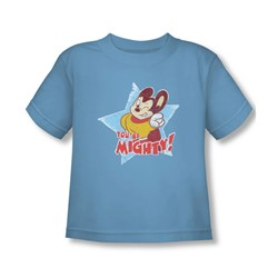 Mighty Mouse - Toddler You'Re Mighty T-Shirt In Carolina Blue