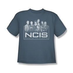 Ncis - Big Boys The Gangs All Here T-Shirt In Slate