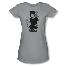 Ncis - Womens Abby Sciuto T-Shirt In Silver