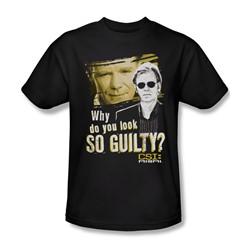 Csi: Miami - Mens So Guilty T-Shirt In Black