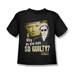 Csi: Miami - Little Boys So Guilty T-Shirt In Black