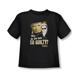 Csi: Miami - Toddler So Guilty T-Shirt In Black