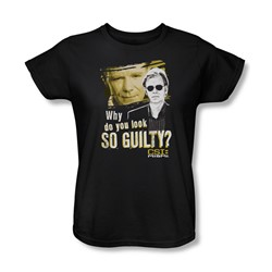 Csi: Miami - Womens So Guilty T-Shirt In Black