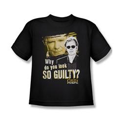 Csi: Miami - Big Boys So Guilty T-Shirt In Black