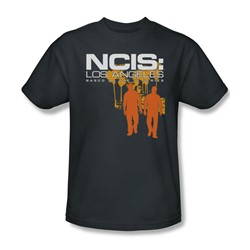 Ncis:La - Mens Slow Walk T-Shirt In Charcoal
