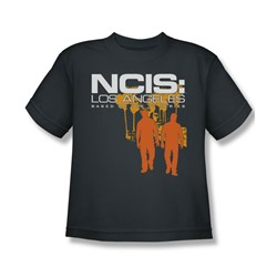Ncis:La - Big Boys Slow Walk T-Shirt In Charcoal