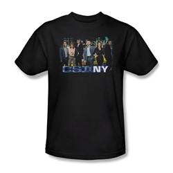 Csi Ny - Mens Cast T-Shirt In Black