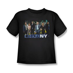 Csi Ny - Little Boys Cast T-Shirt In Black