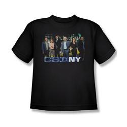 Csi Ny - Big Boys Cast T-Shirt In Black