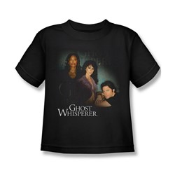 Ghost Whisperer - Little Boys Diagonal Cast T-Shirt In Black