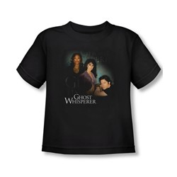 Ghost Whisperer - Toddler Diagonal Cast T-Shirt In Black