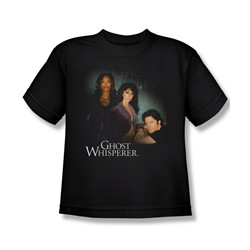 Ghost Whisperer - Big Boys Diagonal Cast T-Shirt In Black