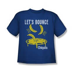 Chiquita - Big Boys Let'S Bounch T-Shirt In Royal