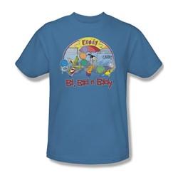 Ed Edd Eddy - Mens Jawbreakers T-Shirt In Carolina Blue