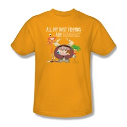 Foster'S - Mens Imaginary Friends T-Shirt In Gold