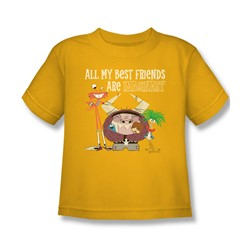 Foster'S - Little Boys Imaginary Friends T-Shirt In Gold