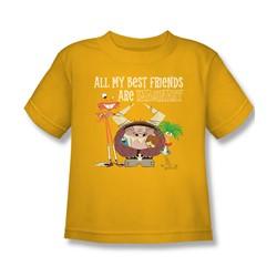 Foster'S - Little Boys Imaginary Friends T-Shirt In Gold