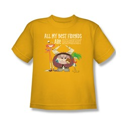 Foster'S - Big Boys Imaginary Friends T-Shirt In Gold