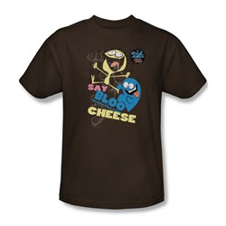 Foster'S - Mens Dancing Friends T-Shirt In Coffee
