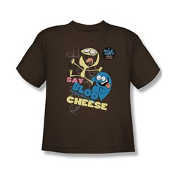 Foster'S - Big Boys Dancing Friends T-Shirt In Coffee