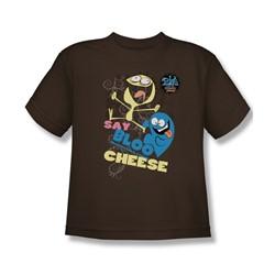 Foster'S - Big Boys Dancing Friends T-Shirt In Coffee