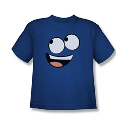 Foster'S - Big Boys Blue Face T-Shirt In Royal