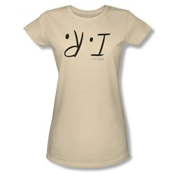 I Am Weasel - Womens I R T-Shirt In Cream