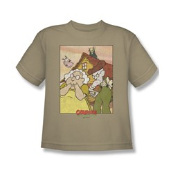 Courage - Big Boys Gothic Courage T-Shirt In Sand