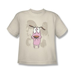 Courage - Big Boys Monsters T-Shirt In Cream