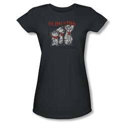 Ed Edd N Eddy - Womens Stand By Me T-Shirt In Charcoal