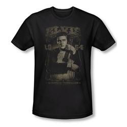 Elvis Presley - Mens 1954 T-Shirt In Black