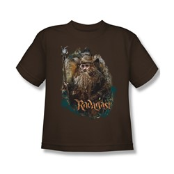 The Hobbit - Big Boys Radagast The Brown T-Shirt In Coffee