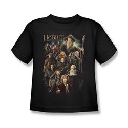 The Hobbit - Little Boys Somber Company T-Shirt In Black