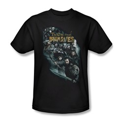 The Hobbit - Mens Company Of Dwarves T-Shirt In Black