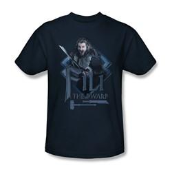 The Hobbit - Mens Fili T-Shirt In Navy