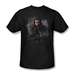 The Hobbit - Mens Thorin Oakenshield T-Shirt In Black