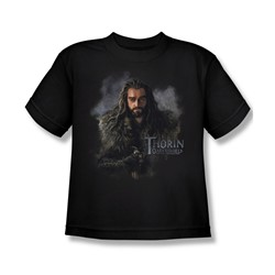 The Hobbit - Big Boys Thorin Oakenshield T-Shirt In Black