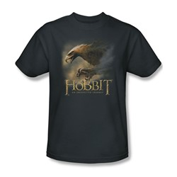 The Hobbit - Mens Great Eagle T-Shirt In Charcoal