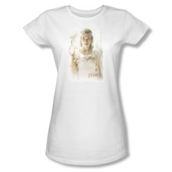 The Hobbit - Womens Galadriel T-Shirt In White